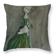 The Letter 2001 Throw Pillow by Cathy Peterson