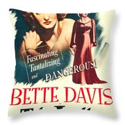 The Letter Throw Pillow by MMG Archives