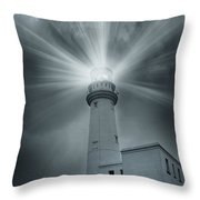 The Light House Throw Pillow by Svetlana Sewell