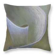 The Lone Lily Throw Pillow by Ginny Neece