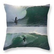 The Maestro Of Middle Peak Throw Pillow by Bruce Frye