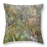 The Magic Tree 5 Throw Pillow by Kume Bryant