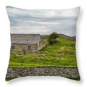 The Mens Chapel Throw Pillow by Adrian Evans