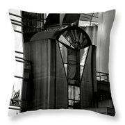 The Modern Highrise Throw Pillow by Bill Gallagher