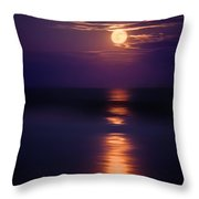 The Moon Is Just The Sun At Night Throw Pillow by Mark Miller