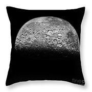 The Moon Throw Pillow by NASA Science Source