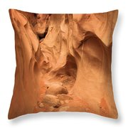 The Narrows Ahead Throw Pillow by Adam Jewell