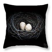 The Nest Throw Pillow by Edward Fielding