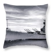 The New Jersey Throw Pillow by Olivier Le Queinec