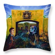 The Oath Throw Pillow by Kd Neeley