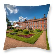 The Old Hall  Throw Pillow by Adrian Evans