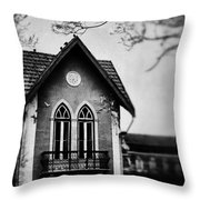 The Old House Throw Pillow by Marco Oliveira