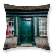 The Old Post Office Throw Pillow by Adrian Evans