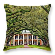 The Old South Throw Pillow by Steve Harrington