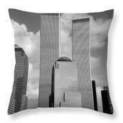 The Old WTC Throw Pillow by Joann Vitali