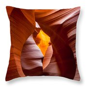 The Opening Throw Pillow by Inge Johnsson
