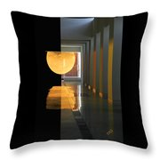The Other Side Throw Pillow by Ben and Raisa Gertsberg