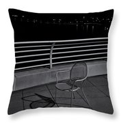 The Outcast Throw Pillow by Trever Miller