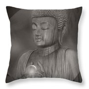 The Path Of Peace Throw Pillow by Sharon Mau