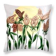 The Prayer Garden Throw Pillow by Anthony Falbo