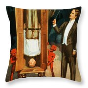 The Prisoner Of Canton Throw Pillow by The  Vault - Jennifer Rondinelli Reilly