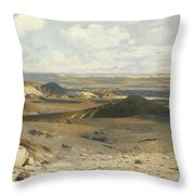 The Pursuit Throw Pillow by Jean Leon Gerome