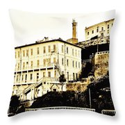The Rock Throw Pillow by Benjamin Yeager