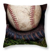 The Scoop Throw Pillow by David Patterson