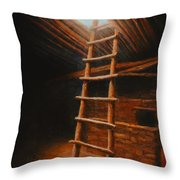 The Second World Throw Pillow by Jerry McElroy