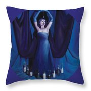 The Seer Throw Pillow by Shelley Irish