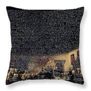 The Signing of The United States Declaration of Independence v2 Throw Pillow by Wingsdomain Art and Photography