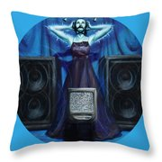 The Silenced Throw Pillow by Shelley Irish