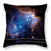 The Sky  Throw Pillow by Bill  Wakeley