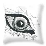 The Sorcerer's Divine Dance Of Infinite Divine Light Throw Pillow by Daina White