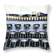 The Story Told 1 Throw Pillow by Angelina Vick
