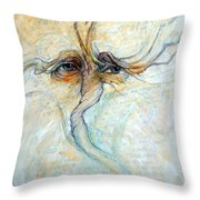 The Struggle Throw Pillow by Frank Robert Dixon