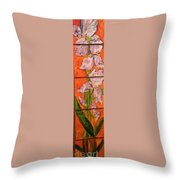 The Tall One High 5 Throw Pillow by Sherry Harradence