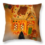 The Toy Store Throw Pillow by Skip Willits