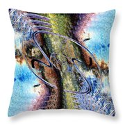 The Unfinished Interlude Throw Pillow by Tim Allen