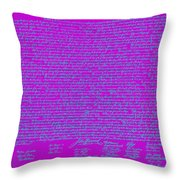 The United States Declaration Of Independence 20130215p168 Throw Pillow by Wingsdomain Art and Photography