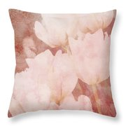 The Value Of A Moment - Vintage Art By Jordan Blackstone Throw Pillow by Jordan Blackstone