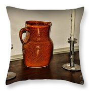 The Water Pitcher Throw Pillow by Paul Ward