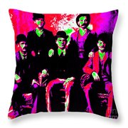 The Wild Bunch 20130212 Throw Pillow by Wingsdomain Art and Photography