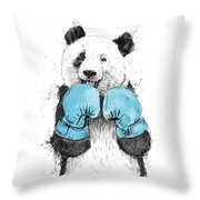 The Winner Throw Pillow by Balazs Solti