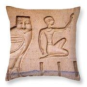 The Wise Man ? Throw Pillow by Brenda Kean