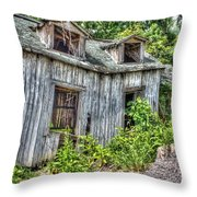 There Was A Crooked Man Throw Pillow by Dan Stone