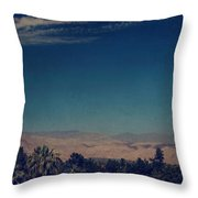 They Can't Touch Us Throw Pillow by Laurie Search
