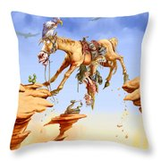 Things Are Looking Up Throw Pillow by Nate Owens
