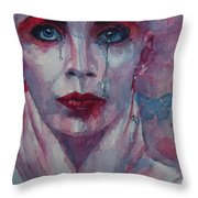 This Is The Fear This Is The Dread  These Are The Contents Of My Head Throw Pillow by Paul Lovering