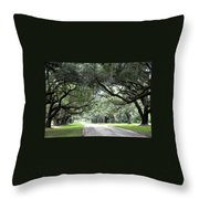 This Is The South Throw Pillow by Patricia Greer